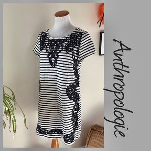 Anthropologie PostMark Striped Tunic MED